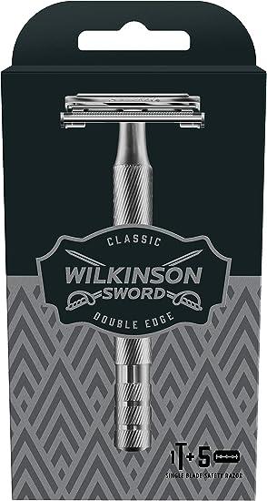Wilkinson Sword Classic PREMIUM - Máquina de Afeitar Vintage de ...