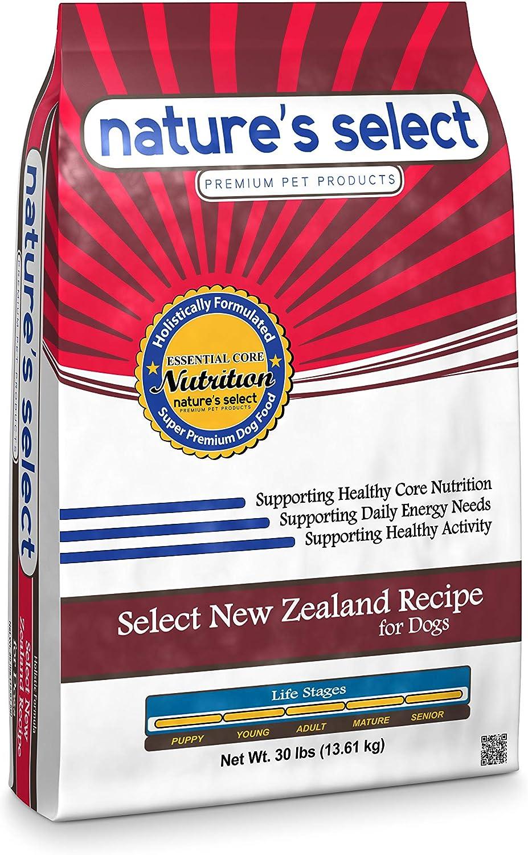 Nature's Select New Zealand Recipe - Lamb Adult Dry Dog Food (30 LBs)
