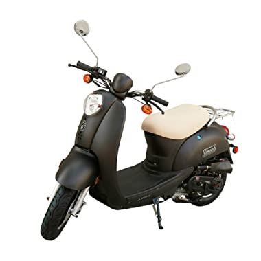 Coleman Powersports 14 49cc Scooter - Street Legal Moped (JL50QT)