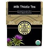 Organic Milk Thistle Tea - Kosher, Caffeine Free, GMO-Free - 18 Bleach Free Tea Bags