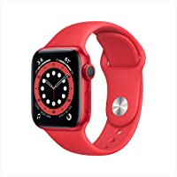 $399 » New AppleWatch Series 6 (GPS, 40mm) - Product(RED) - Aluminum Case with Product(RED) - Sport Band