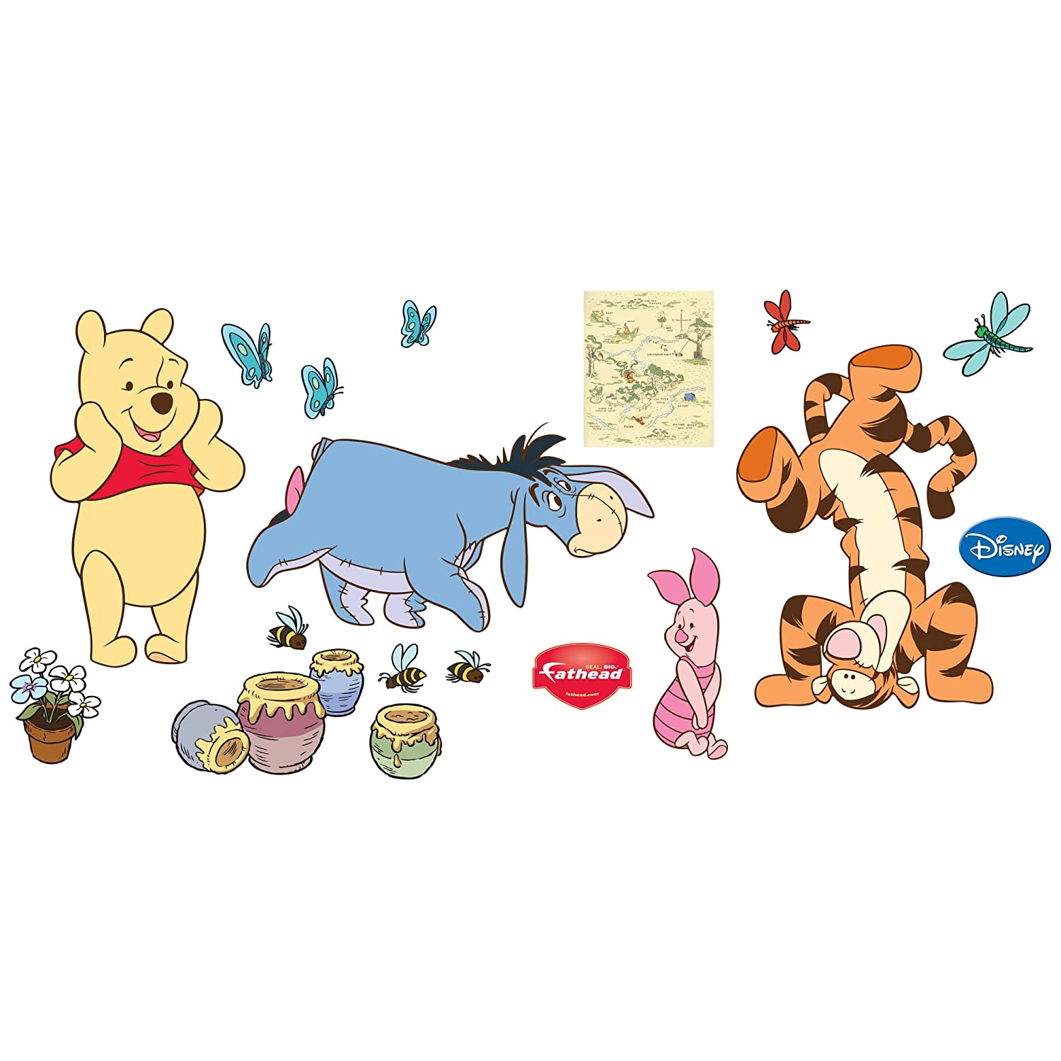 Winnie The Pooh Wall Sticker Part - 40: Amazon.com