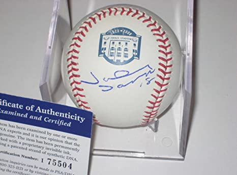 99bd3801ac0 Image Unavailable. Image not available for. Color  Johnny Damon Autographed  Baseball ...