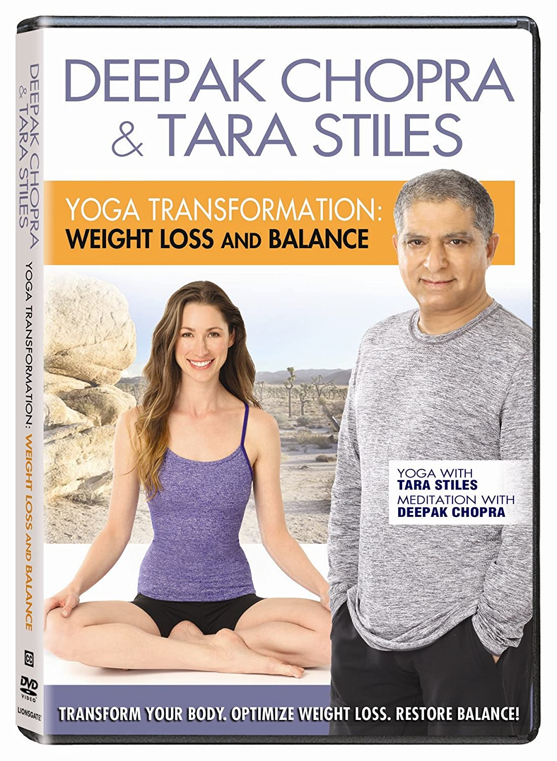 Yoga Transformation: Weight Loss & Balance Reino Unido DVD ...