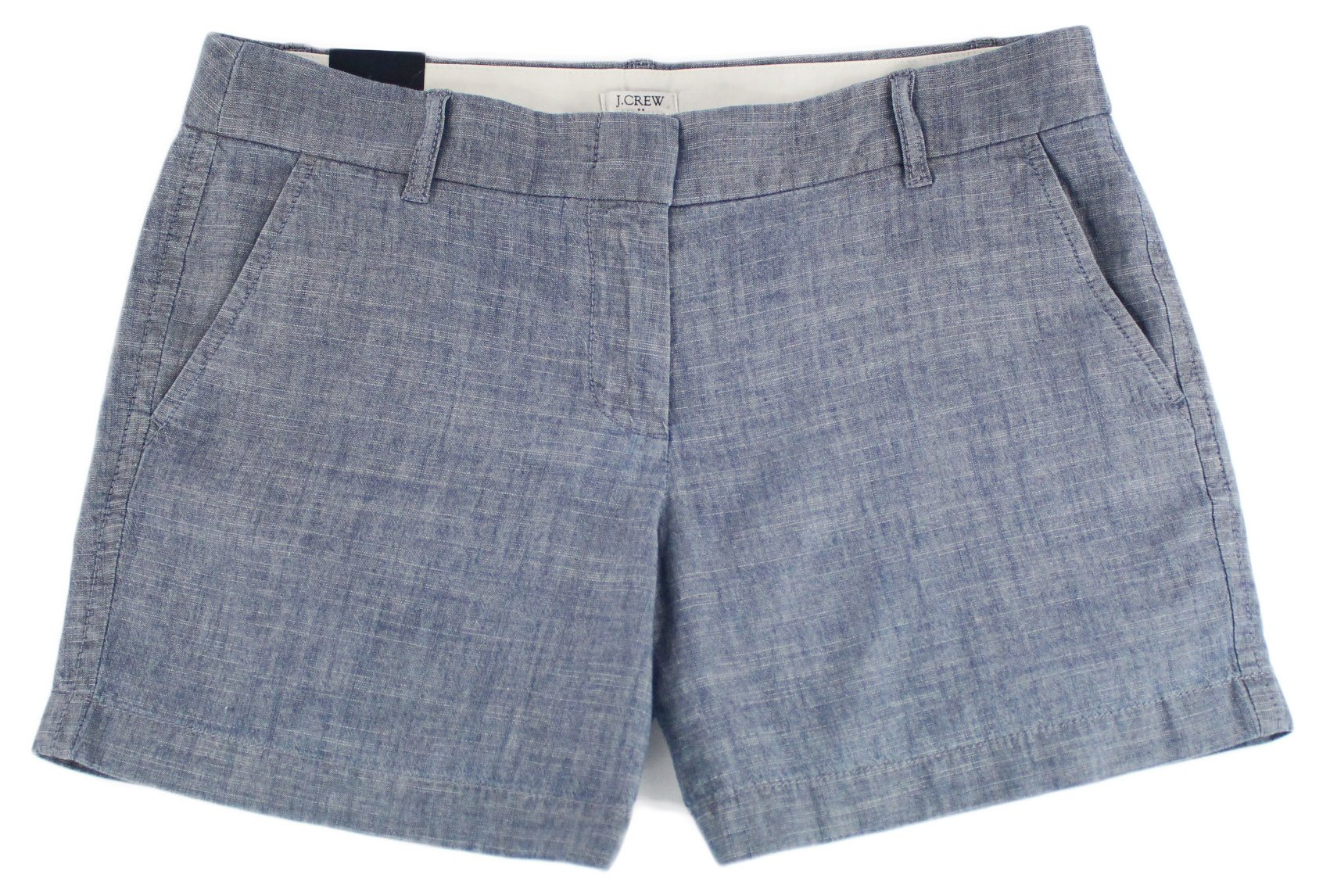 J. Crew - Women's - 5'' Chino Shorts (Multiple Color/Size Options) (6, Chambray)