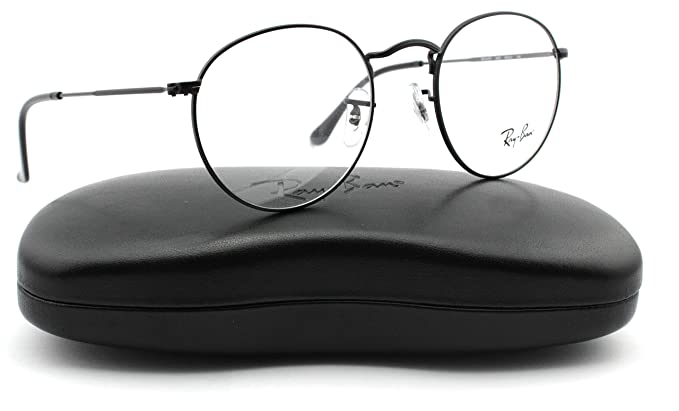 6eb44ae59ff Ray-Ban RX3447V 2503 Round Metal Unisex Eyeglasses Matte Black Frame 47mm   Amazon.co.uk  Clothing