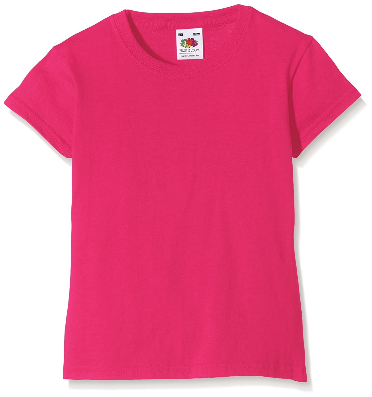 Extra weiches Kinder T-Shirt Fruit of the Loom Mädchen Jungen