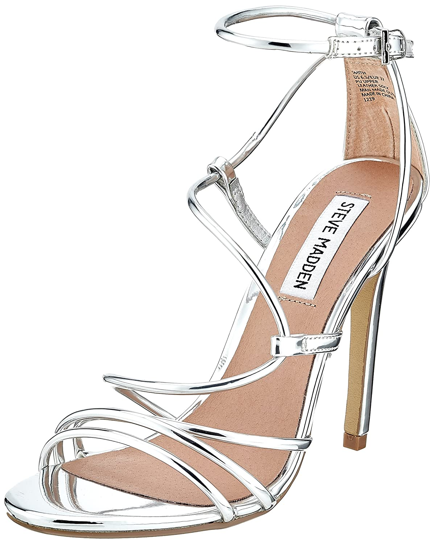 Steve Madden Smith Sandal, Scarpe con Cinturino alla Caviglia Donna