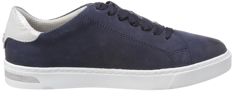 f50d0ad260f0bb Be Natural Damen Sneaker Blau by Jana Aus Leder von Größe 37 bis 41   Amazon.de  Schuhe   Handtaschen