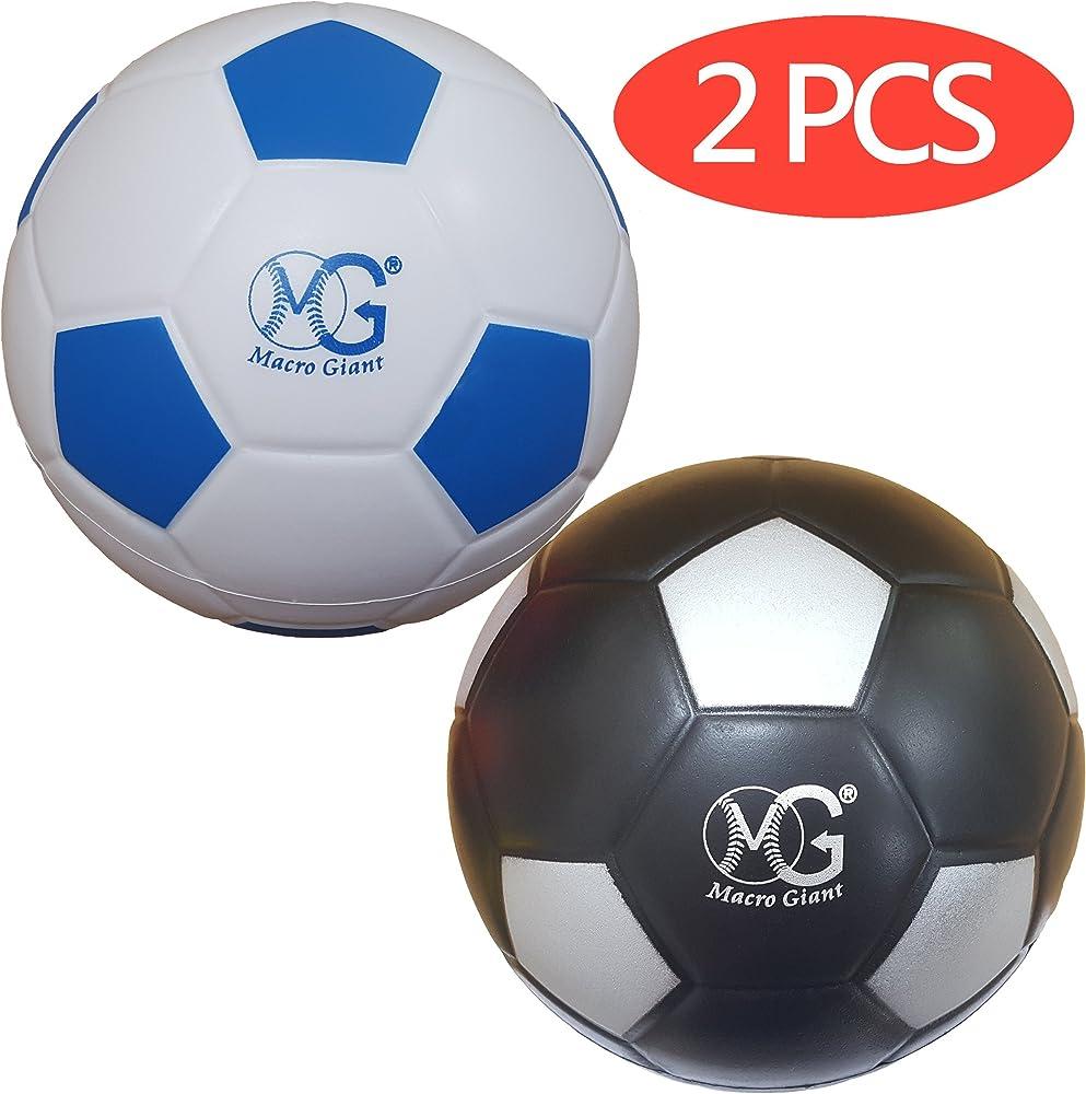 Macro Giant 6 inch Set of 4 Safe Soft Foam Soccer Kickball Diameter Training Practice Kids Toys Beginner