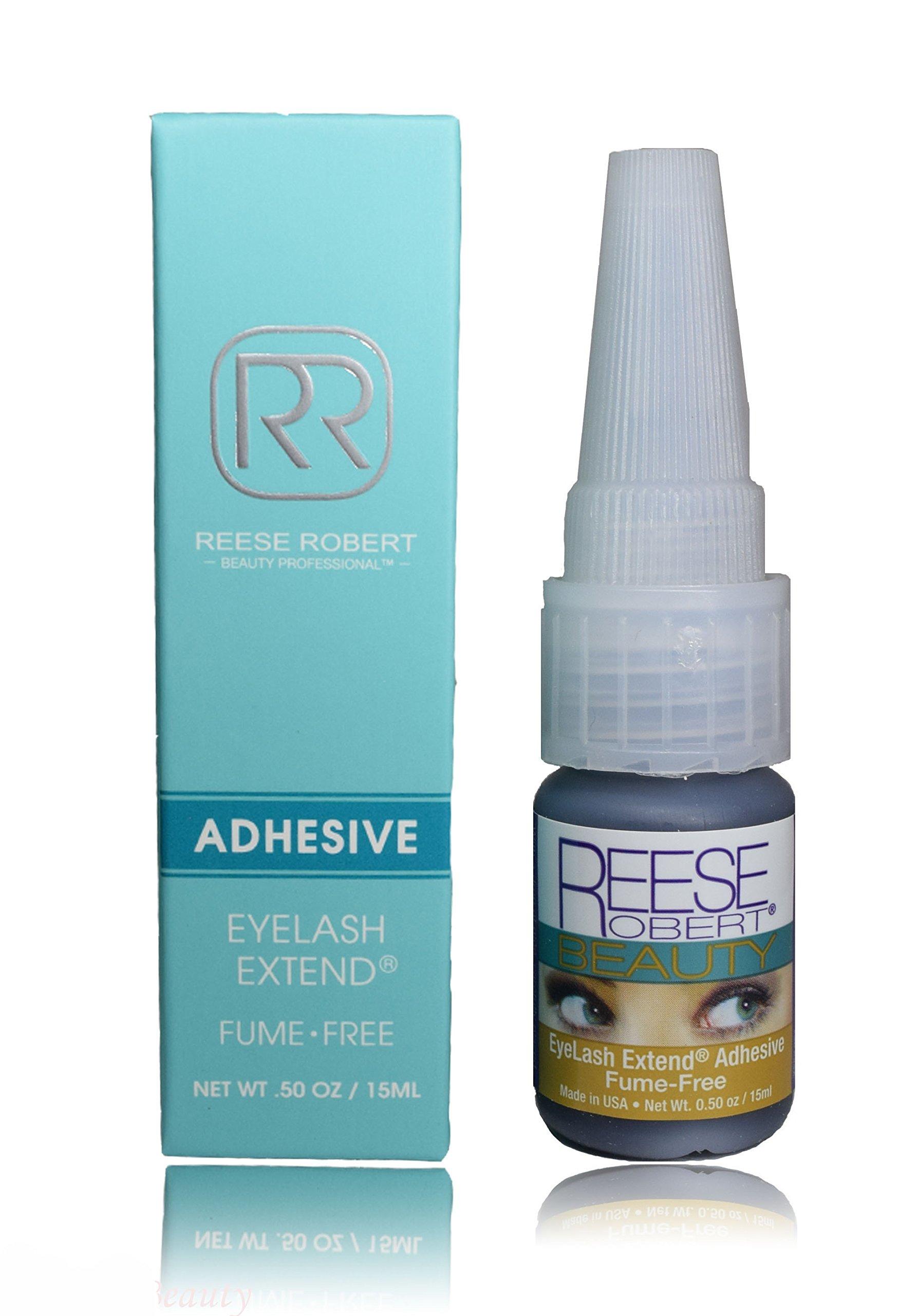 Reese Robert Beauty Eyelash Extend Adhesive, 0.5 Ounce by Reese Robert Beauty by Reese Robert Beauty Professional