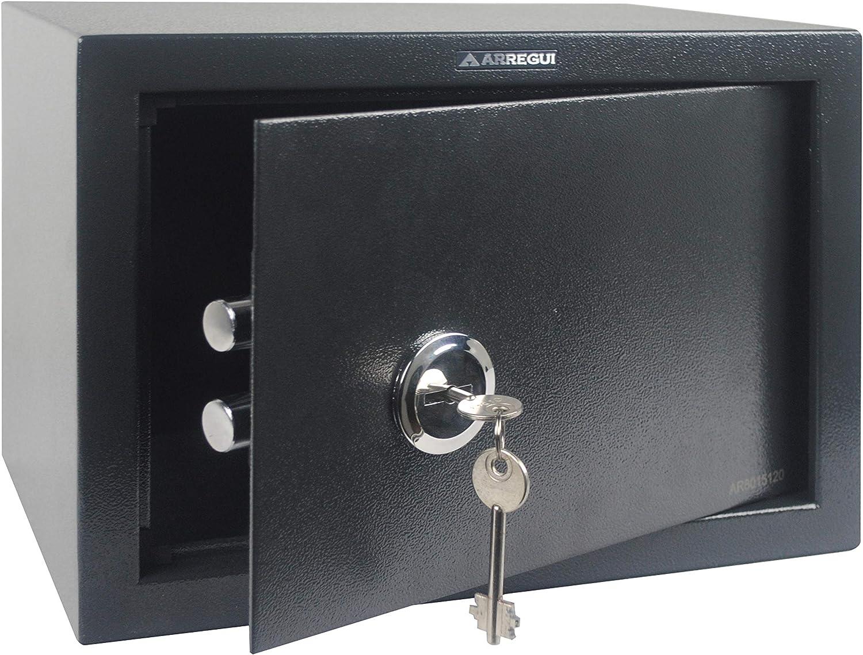 Arregui T25K Caja fuerte de sobreponer sólo llave.350x250x250 mm ...