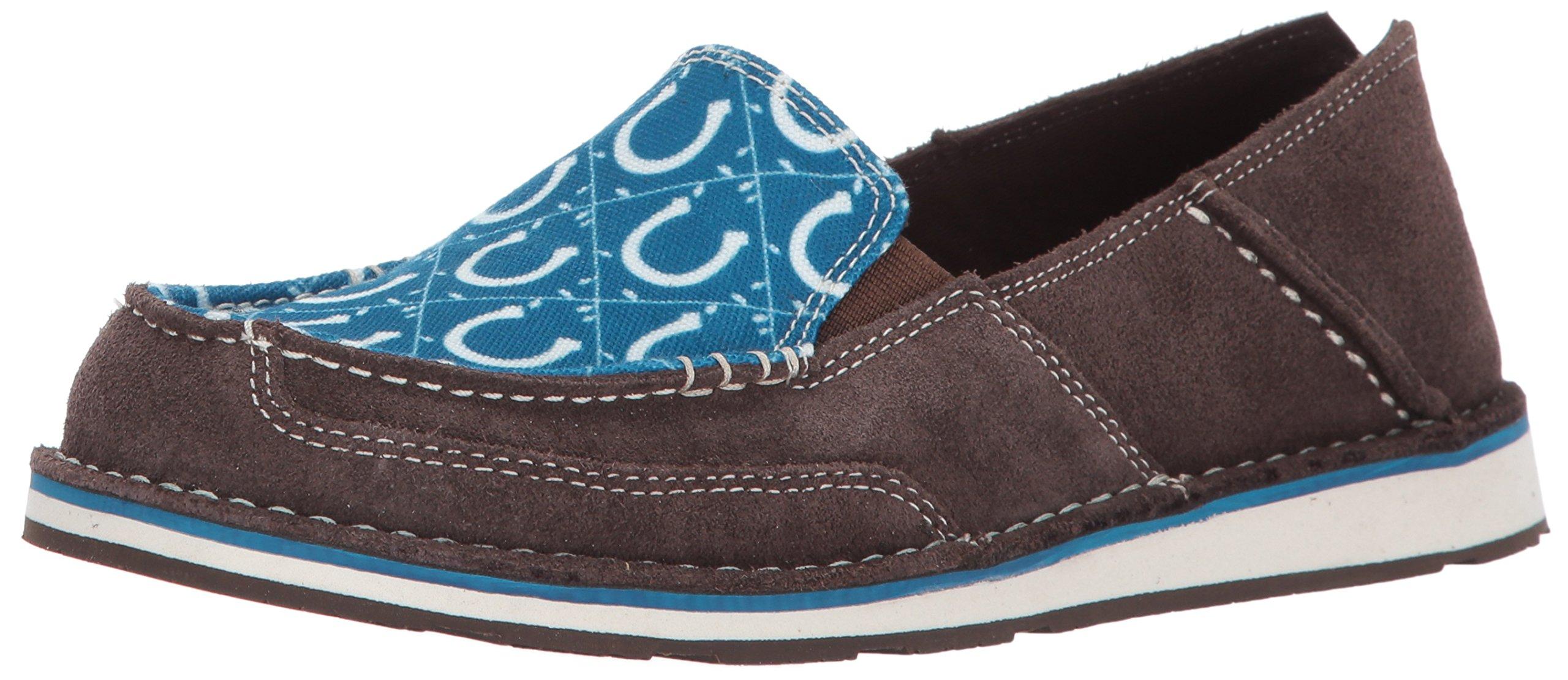Ariat Women's English Cruiser Work Boot, Chocolate/Seaport Shoes, 10 B US
