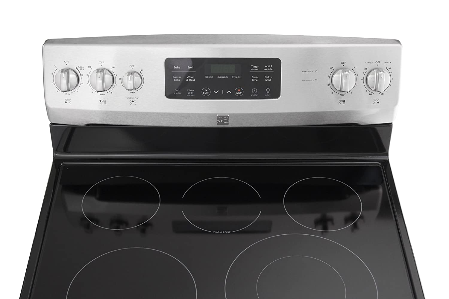 Kenmore 94193 54 Cu Ft Self Clean Electric Range With Wash Dishwasher Parts Diagram On Ultra Convection Oven And Turbo Boil Element In Stainless Steel Includes Delivery