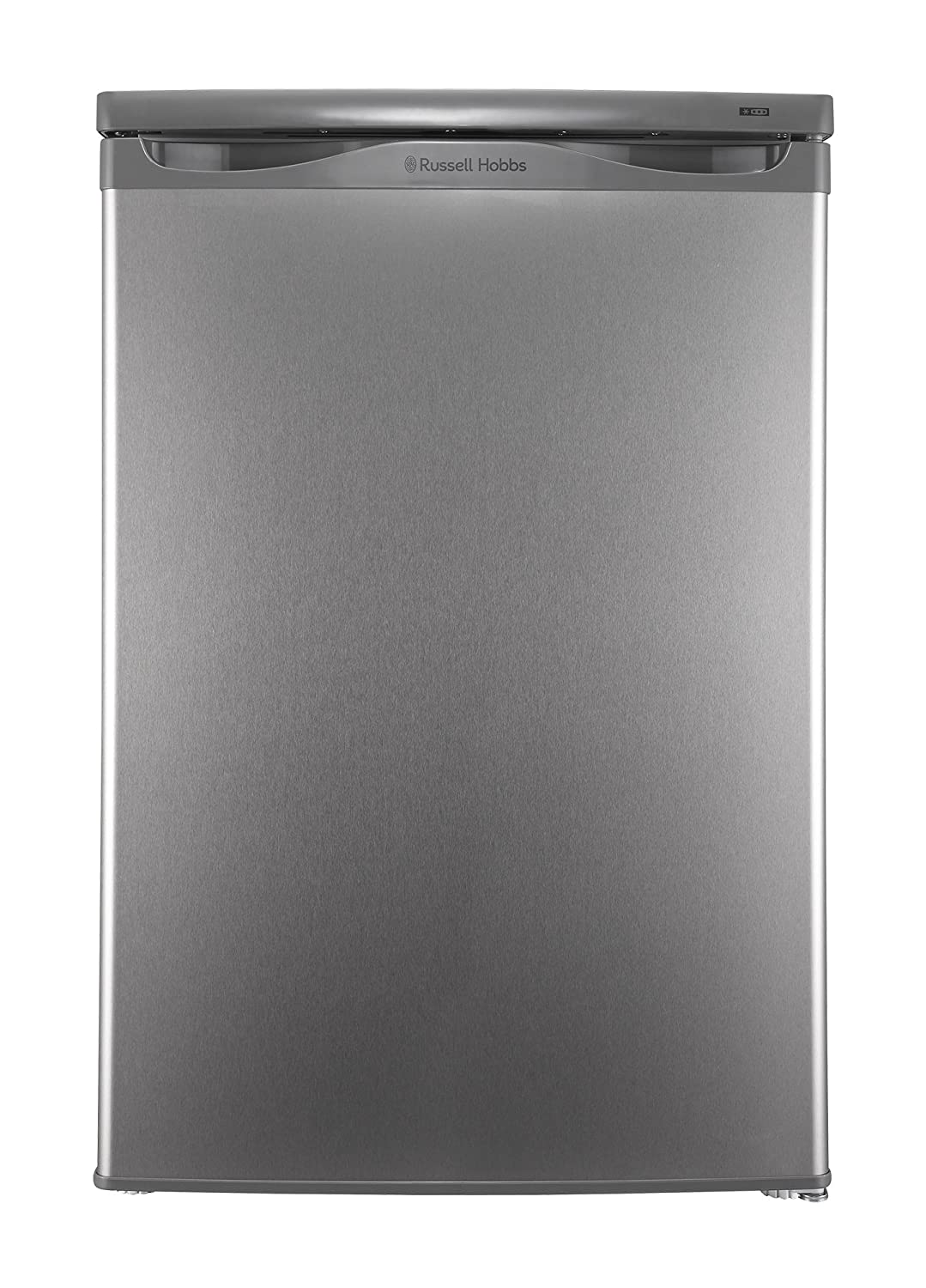 Russell Hobbs RHUCFZ55SS Freestanding Effect Under Counter Freezer, Stainless Steel [Energy Class A+]
