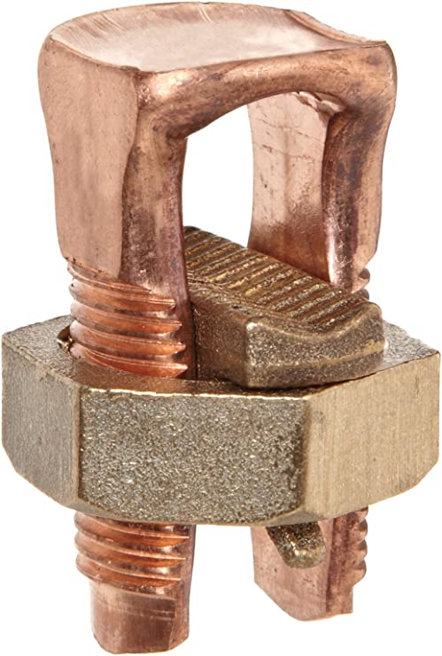 1 Count Copper Split Bolt Connector 1//0 AWG