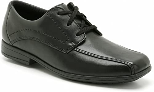 Clarks Boys School Bradford Bl Leather