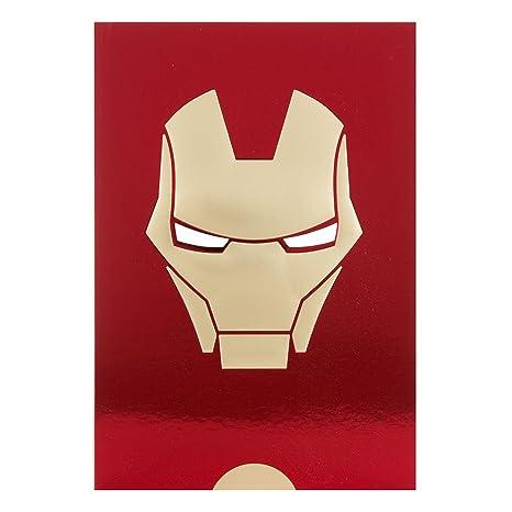 Amazon Hallmark Marvel Iron Man Happy Birthday Card Foil