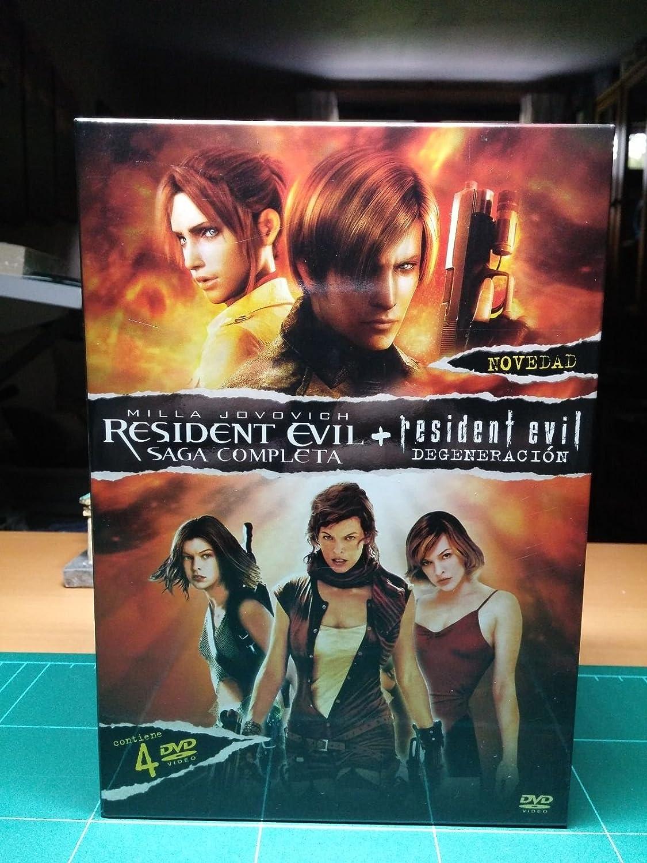 Pack Resident Evil (Trilogia + Degenerac [DVD]: Amazon.es: Varios: Cine y Series TV