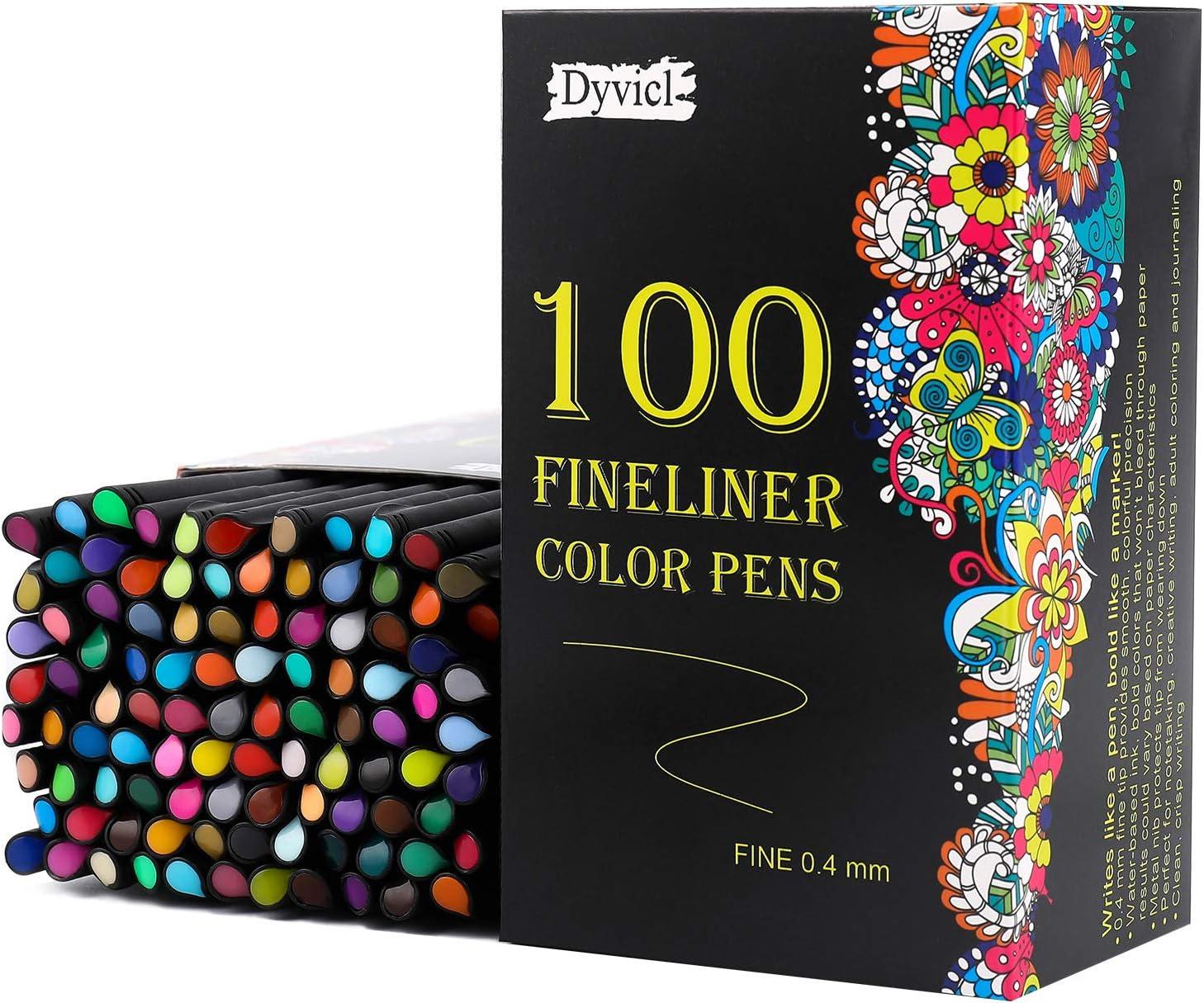 Fineliner Fine Point Pens