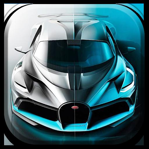 Car racing (Gams Gams)
