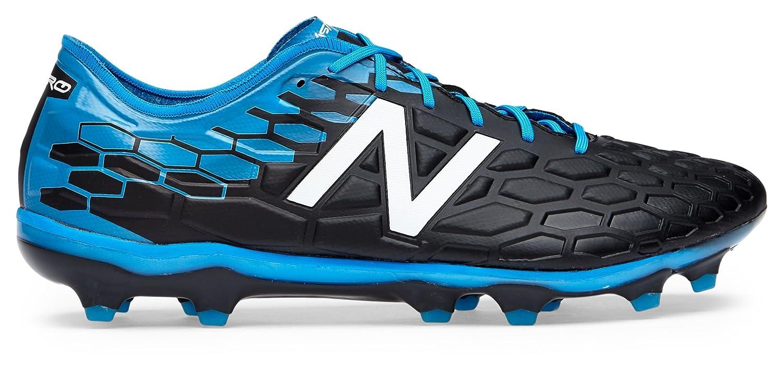(ニューバランス) New Balance 靴シューズ メンズサッカー Visaro 2.0 Pro FG Black with Bolt and Energy Red ブラック ボルト レッド US 8 (26cm) B07795VTS6