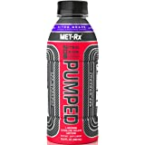 MetRX Extreme NOS Pumped Drink, Nitro Grape, 16.9 Ounce (Pack of 12)
