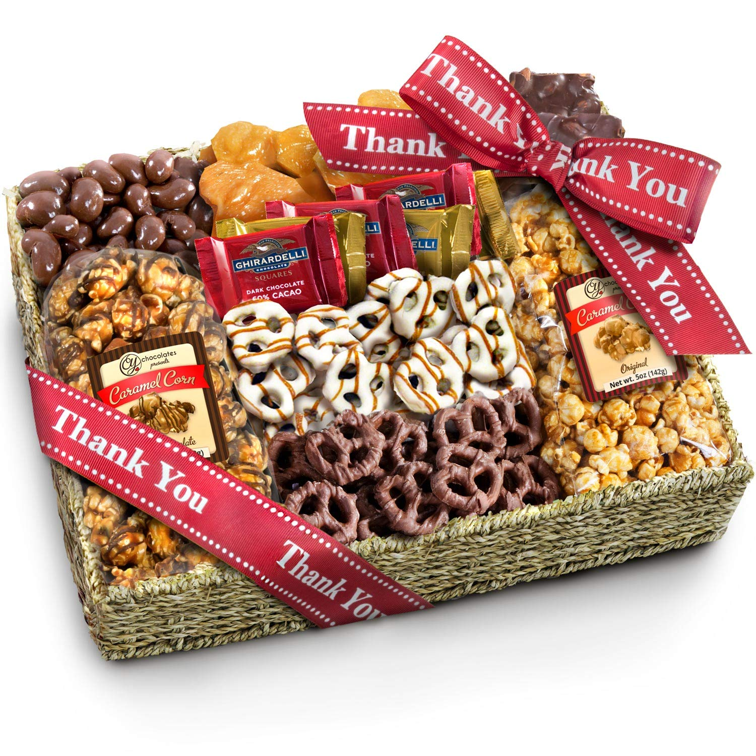 Chocolate Caramel and Crunch Grand Gift Basket Review