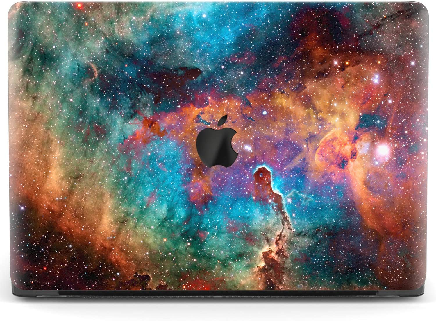 Mertak Hard Case for Apple MacBook Pro 16 Air 13 inch Mac 15 Retina 12 11 2020 2019 2018 2017 Cover Design Clear Blue Plastic Space Amazing Laptop Galaxy Protective Universe Stars Print Touch Bar