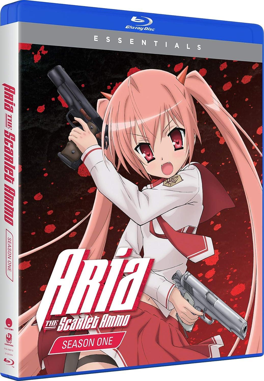 Aria the Scarlet Ammo Essentials Blu-ray (Dual Audio)