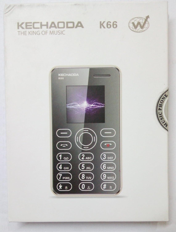 Kechaoda K66 Mini ultra slim credit card size Mobile phone With ...