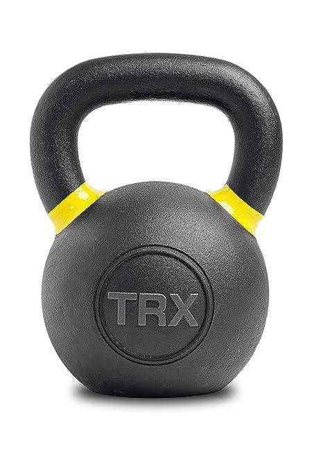 TRX Entrenamiento Pesa Rusa Gravity Cast Kettlebell asa Confortable para un fácil Agarre (4 kg