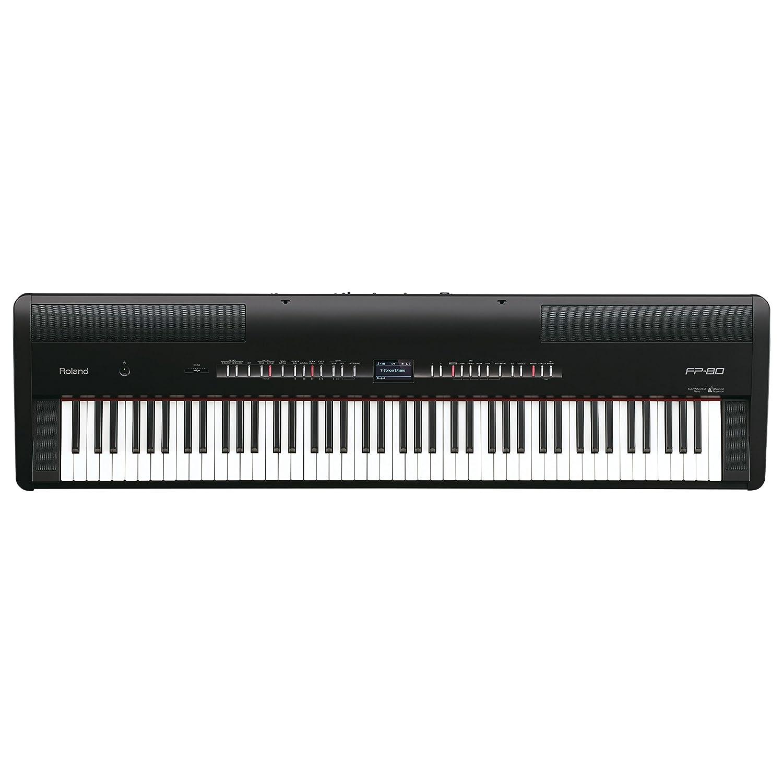 激安先着 Roland FP-80-BK ローランド 電子ピアノ FP-80-BK Roland 88鍵 ブラック B00C6Y8H44 B00C6Y8H44, 天然素材の家具照明 Wanon:3b6fc772 --- beutycity.com