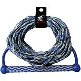 "Wakeboard Rope, 15"" EVA Handle, 3 section"