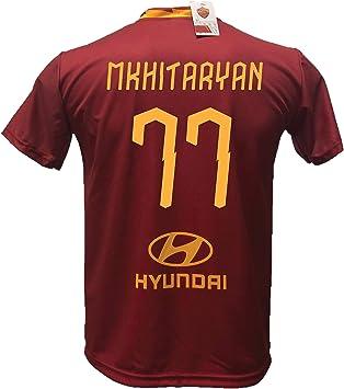 Dnd De D Andolfo Ciro Camiseta De Futbol Mkhitaryan 77 Roma Replica Autorizada 2019 2020 Tallas Para Ninos Y Adultos Amazon Es Deportes Y Aire Libre
