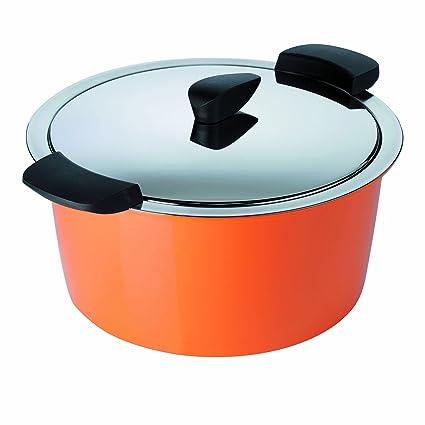 KUHN RIKON Cacerola Hotpan, Naranja, 22 cm