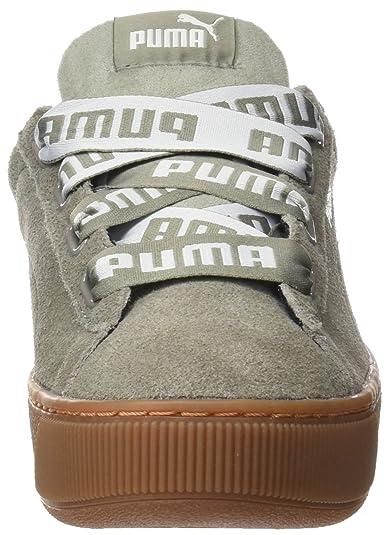 Bold Puma Vikky Platform Ribbon Femme Basses Sneakers q16txwS1pn