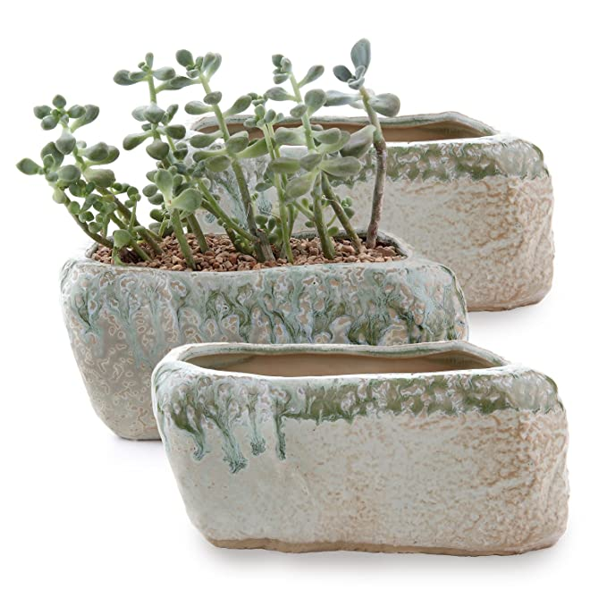 19.5CM Chinese style mountain Peak shape Ceramic Succulent Cactus Plant Pots