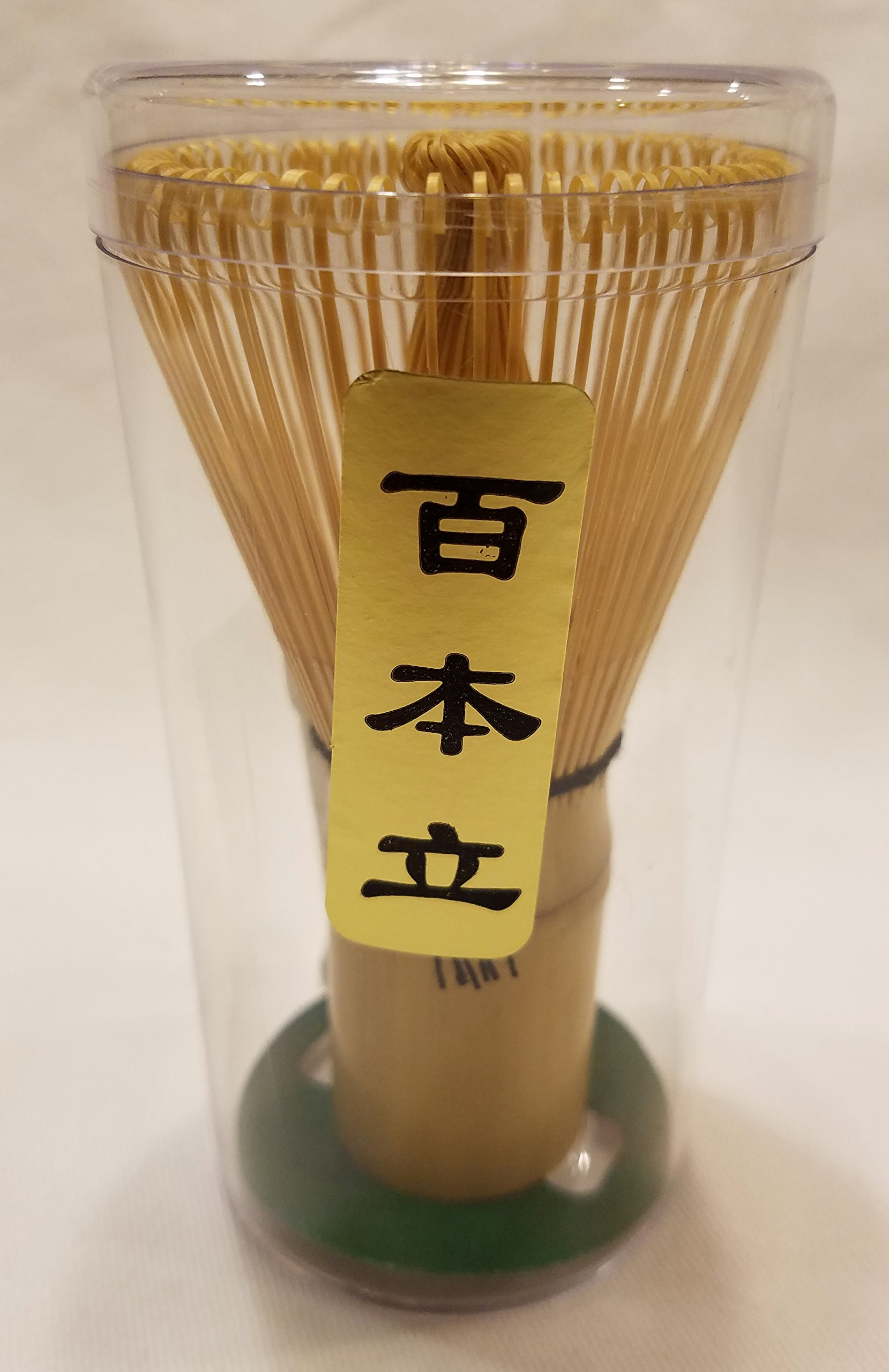 Japanese Matcha Tea Whisk Traditional (Chasen 100 String Whisk) For Preparing intricate Foam to Matcha Tea