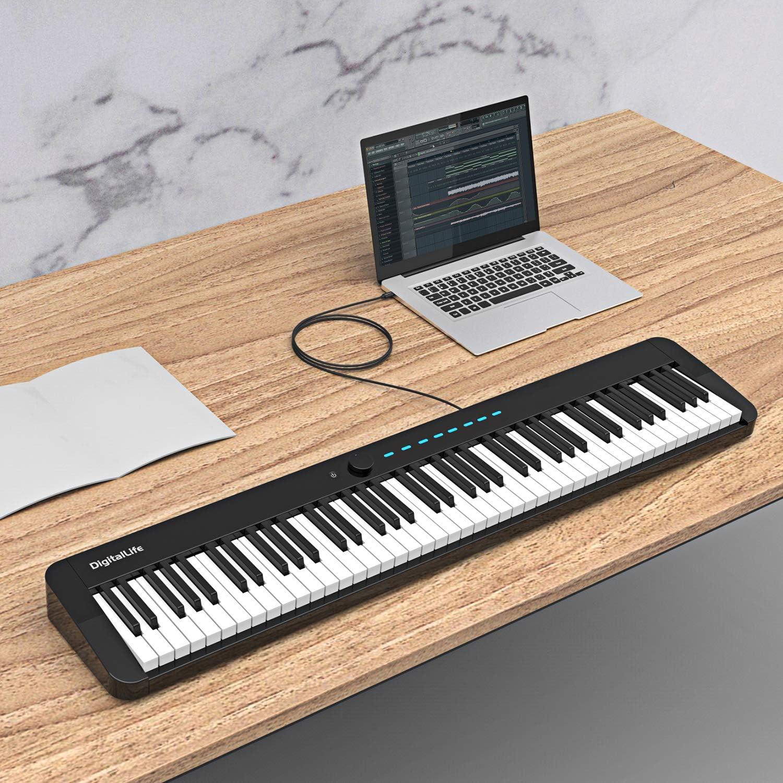 DigitalLife Cable de interfaz MIDI USB-C tipo C a tipo B [U2CM-BM-1.8]