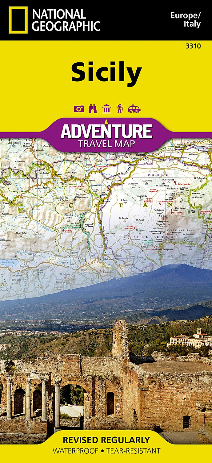 Sicily [Italy] (National Geographic Adventure Map): National ...