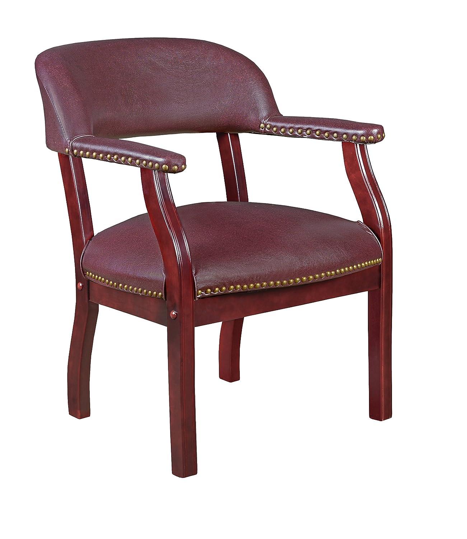 Regency Ivy League Captain Chair, Burgundy