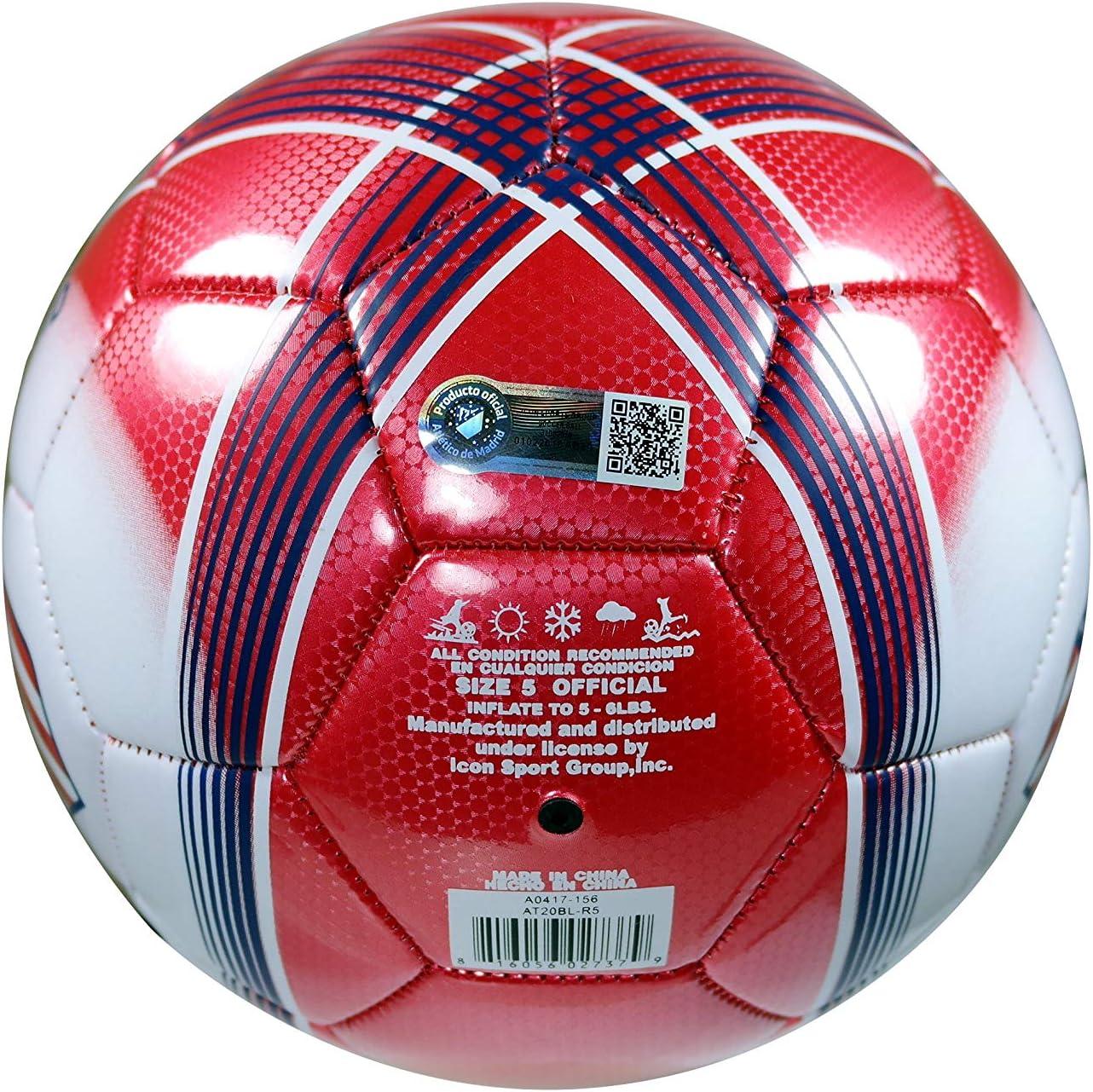 ATLETICO MADRID - Balón de fútbol Oficial (Talla 5-01), Atletico ...
