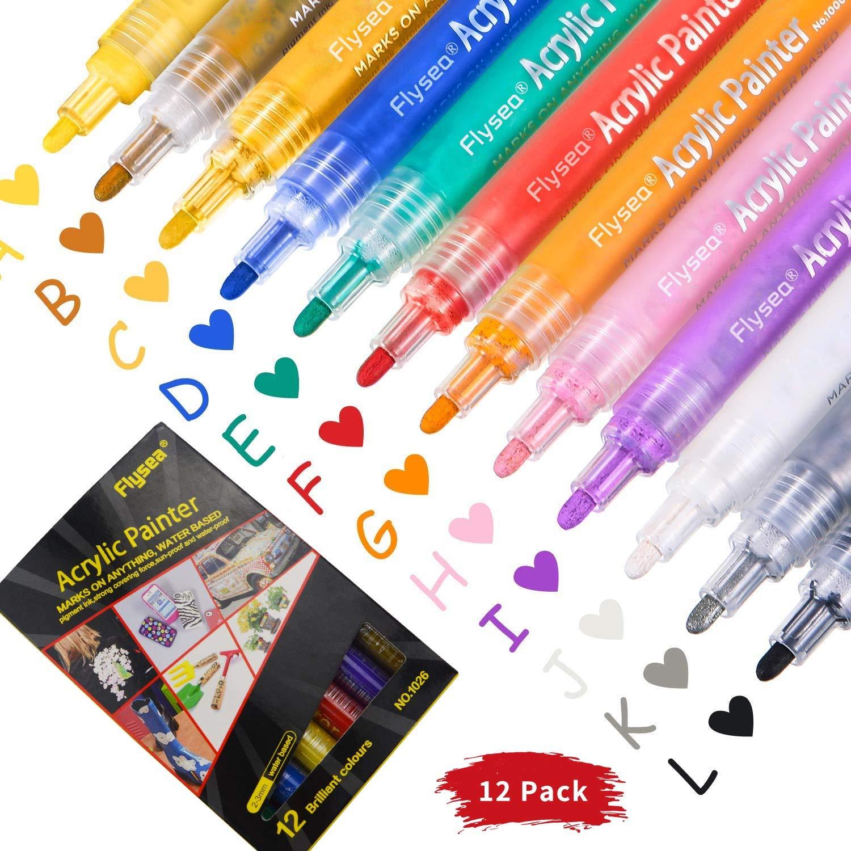 10 Color - Testors Aztek Premium Transparent Acrylic