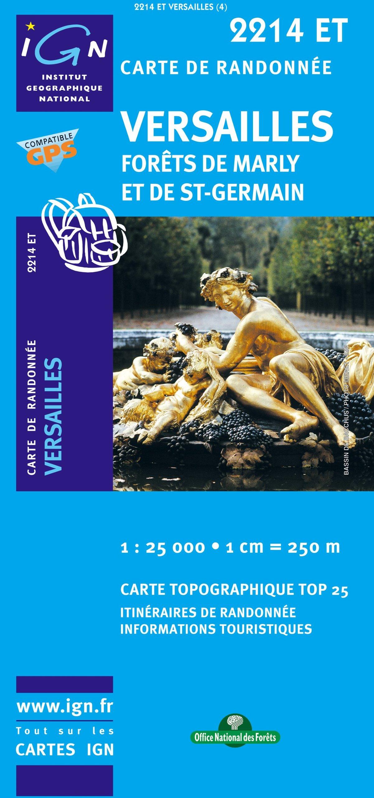 Versailles Forts De Marly Et De Stgermai Carte – Carte pliée, 15 novembre 2010 275851821X Karten / Stadtpläne / Europa France Frankreich