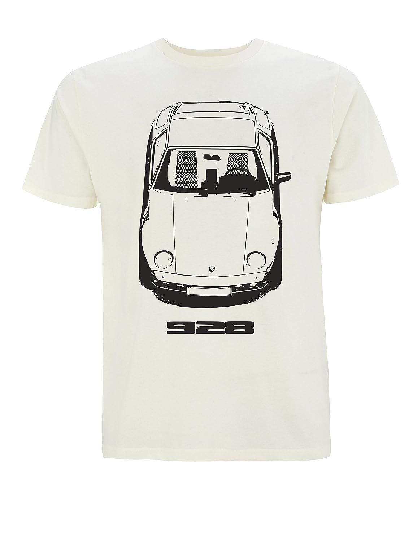 Rodderettes Porsche 928 Camiseta para Hombre (X-Large, Natural ...