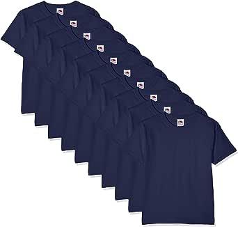 Fruit of the Loom Camiseta (Pack de 10) para Niños