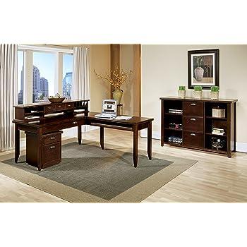 Amazon Com Martin Furniture Tribeca Loft L Shaped Writing