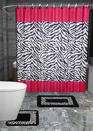 Amazon.com: Lexus 15-piece Animal Bathroom Accessories Set Rugs ...