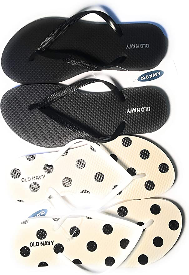 Old Navy  T-Strap Jelly Sandals for Girls Pink And White Sizes 12-13,1-2,3-4 NWT